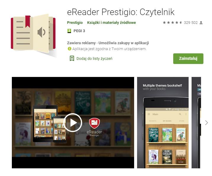 eReader Prestigio Czytelnik – Aplikacje w Google Play_pobierz_top aplikacji do czytania ksiazek_aplikacje ebook_najlepsze aplikacje do czytania_ekantor pl