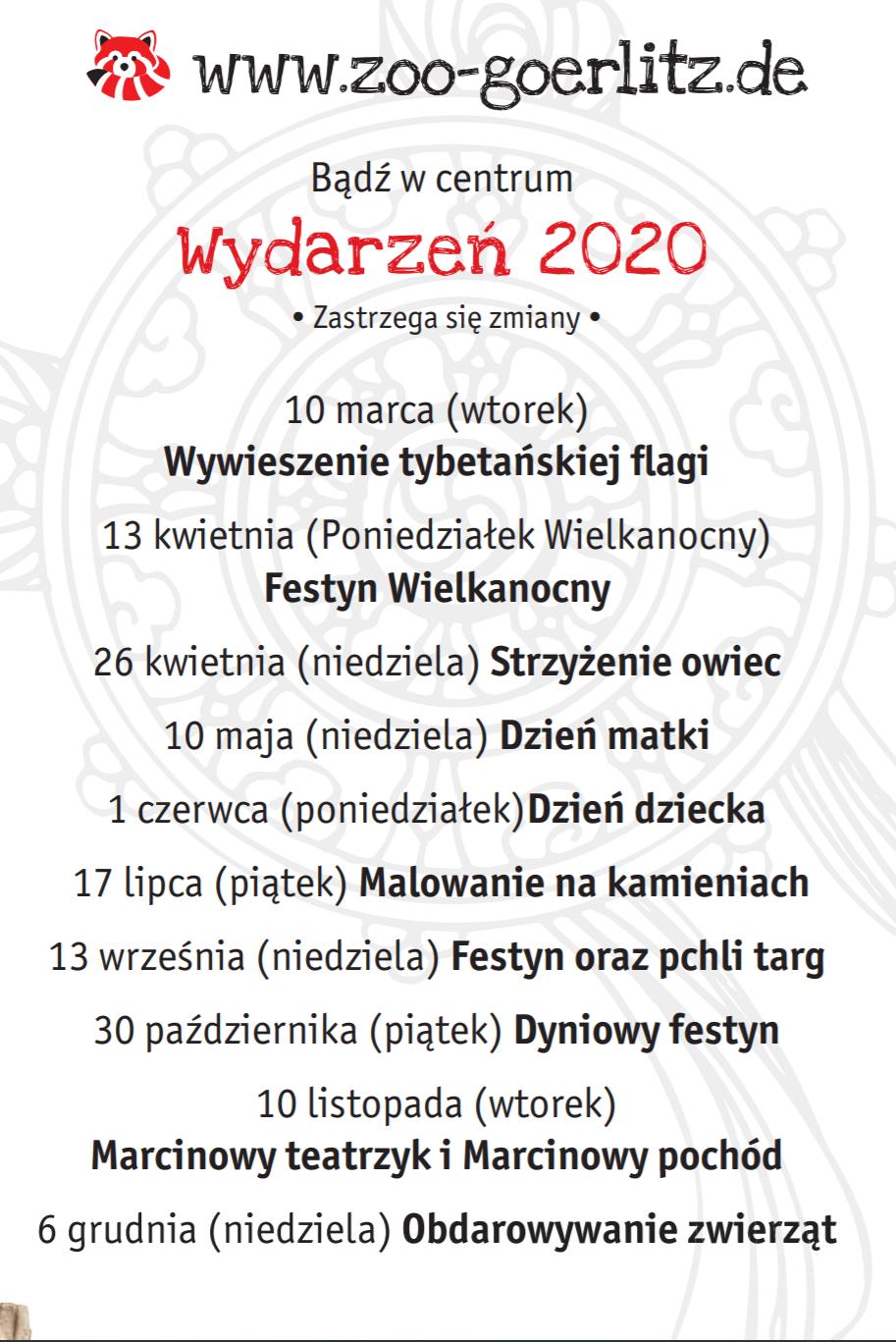 ZOO gorlitz_zgorzelec_plan wydarzen_wydarzenia_2020_festyn_ekantor pl