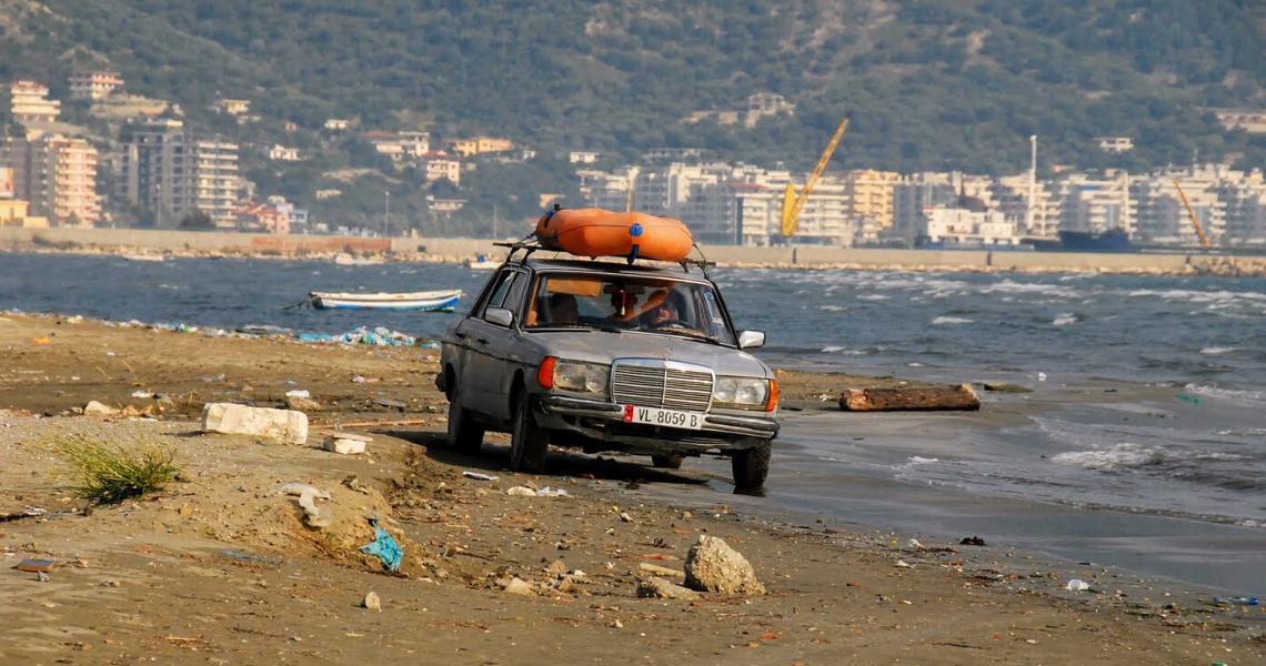 plaża Vlora, Albania _urlop koronaawirus_pandemia_wakacje_ekantor_pl