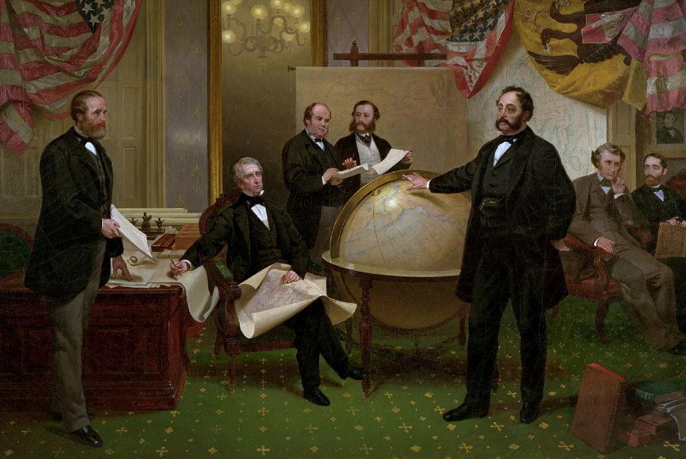 1867 - sprzedaz alaski - Rosja USA