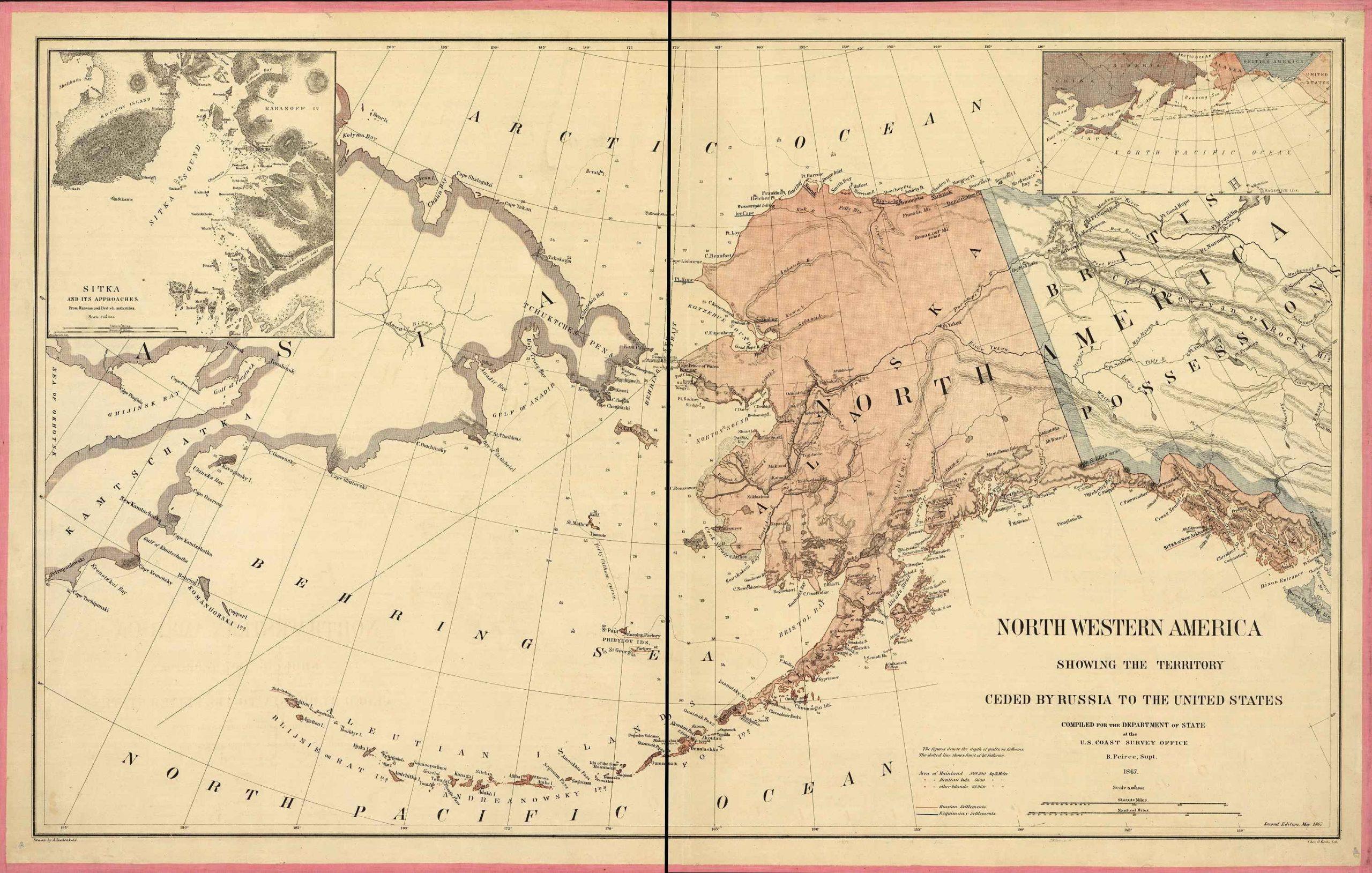 USA Alaska 1867