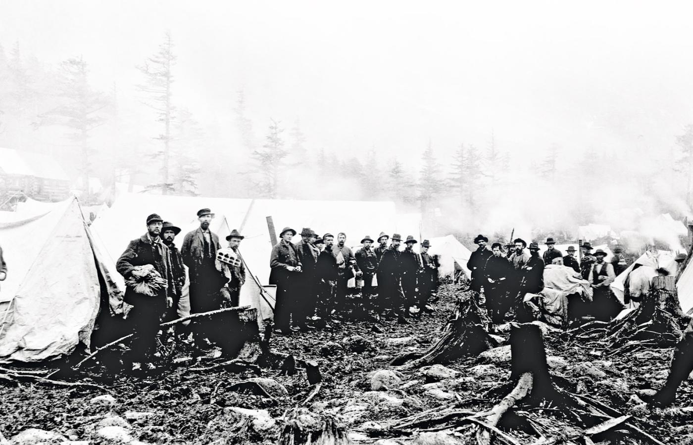 gorączka złota-kalifornia-1849