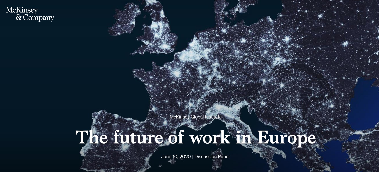 COVID-19 a ryneke pracy-koronawrus-praca-europa-polska-raport McKinsey Global Institute