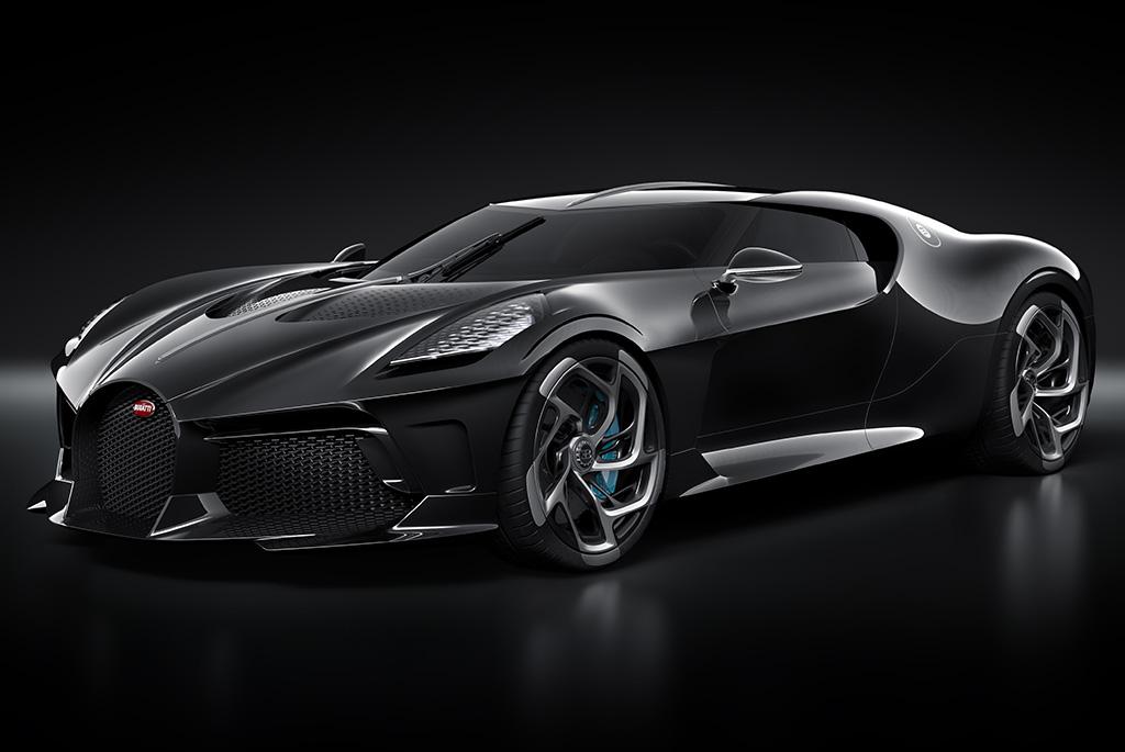 Bugatti La Voiture Noire - najdrozszy samochod swiata