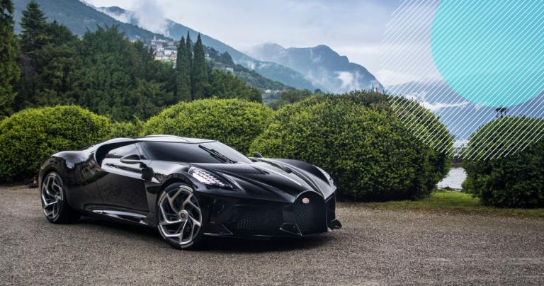 TOP 3 najciekawsze z najdroższych samochodów świata (2020) - luksusowe samochody - bugatti laa voiture - ferrari 250 - ekantor-pl
