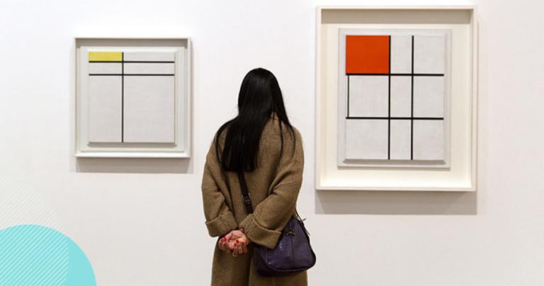 """TOP 3 najdroższe dzieła sztuki, których nie musisz rozumieć- """"Composition II with Red, Blue and Yellow"""" autorstwa Pieta Mondrian - ile warta jest sztuka - ekantor pl"""