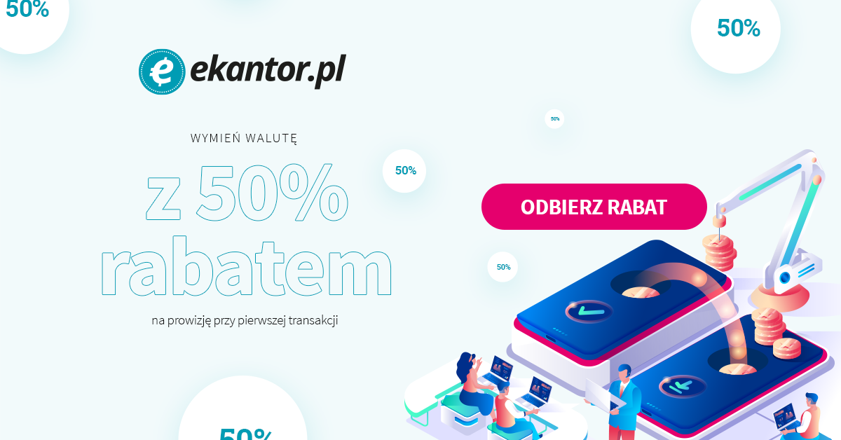 promocja ekantor pl- kantor internetowy- wymiana walut przez internet
